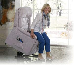 Sessel mit Aufstehhilfe Modell 21