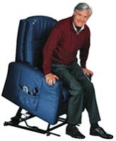 Sessel mit Aufstehhilfe Modell 18