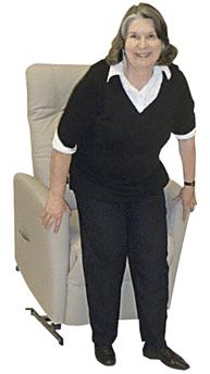 Sessel mit Aufstehhilfe Modell 27